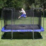 Firkantet trampolin