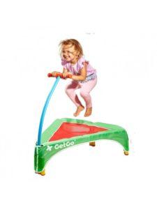 Foldbar junior trampolin