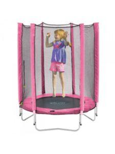Stor indendørs trampolin til piger